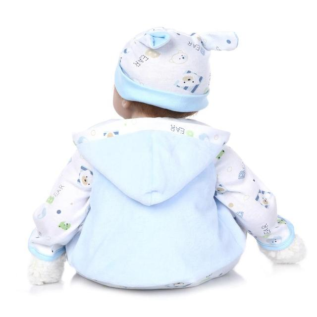 The new soft silicone reborn baby doll toys
