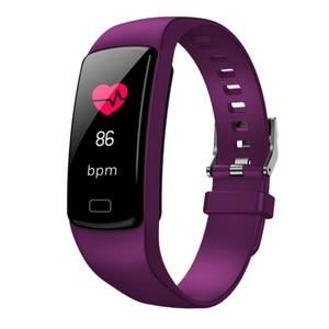 Image 3 - 2019 Col Mi Band 3 Fitness Tracker avec mesure de pression Hey plus Bracelet intelligent podomètre sport montre intelligente pression artérielle