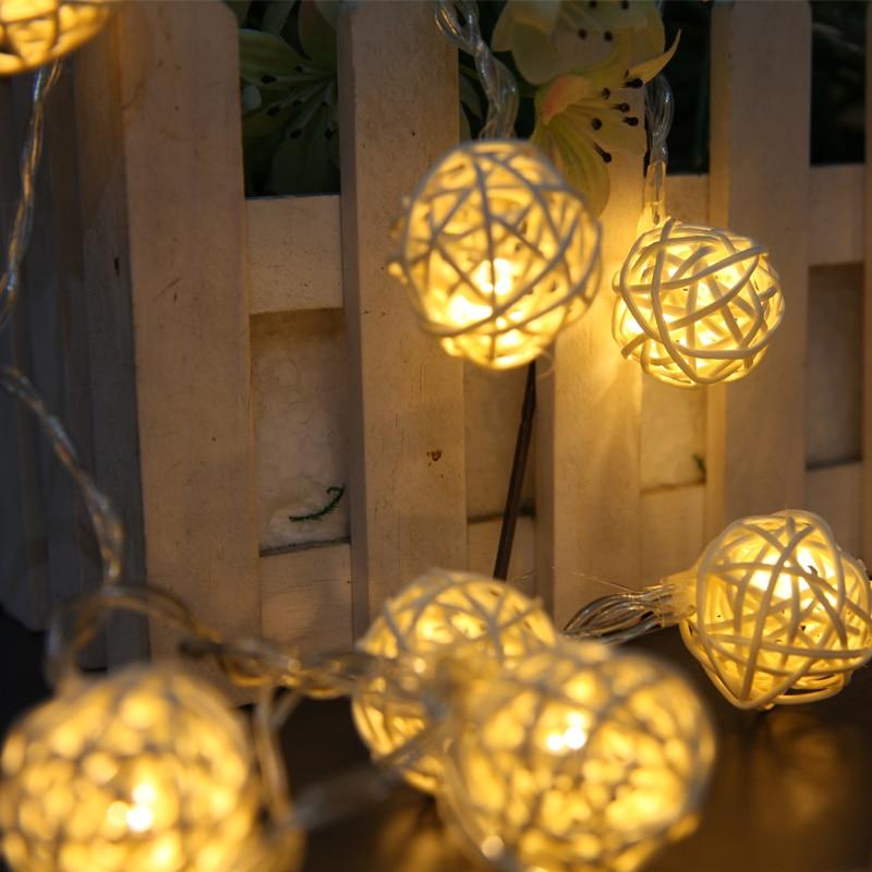 Luz Conduzida da Corda de cordas da lâmpada levou Base : Cunha