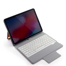 All -in-one Design Slim bluetooth keyboard case for iPad Pro 11, 7- colors backlight wireless keyboard thin +Smart leather case new universal rechargeable wireless bluetooth keyboard with 7 colors led backlight for ipad iphone laptop pc tablet smart phones page 9