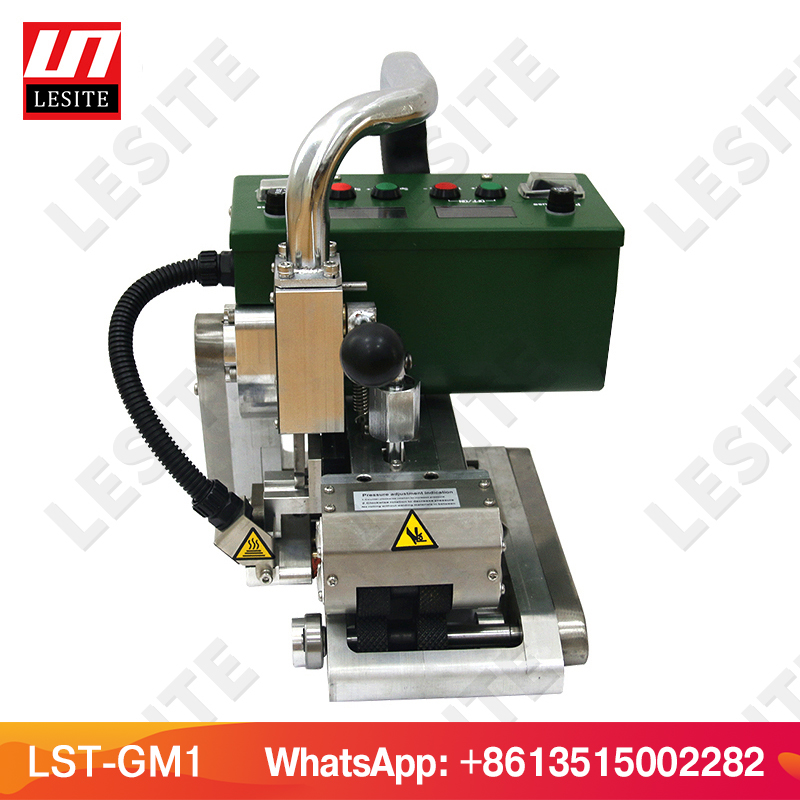 Image 5 - Geomembrane welder HDPE Hot wedge welder PVC geomembrane welding machine LESITE LST GM1welding rollerroller machinegeomembrane welding machine -