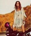 2016 Продвижение Ограниченной Женщины Рубашки Тела Blusas Femininas Aliexpress Европа Слинг Кружева Платье Без Бретелек Sexy Beach On The Cover