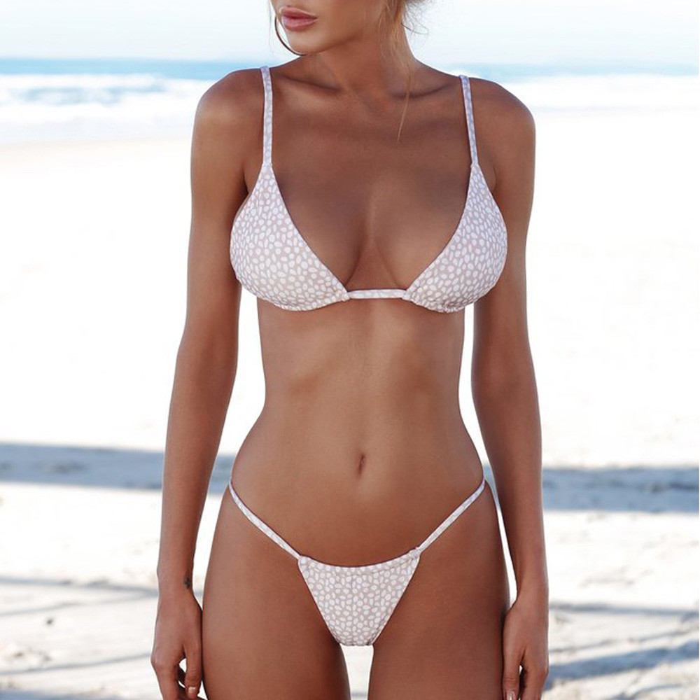 HTB1.WY0XUCF3KVjSZJnq6znHFXah 2019 Woman Thong Swim Set Sexy Swimwear Micro Swim Suits Girls Biquinis Female Solid Swimsuit Bathing Suits