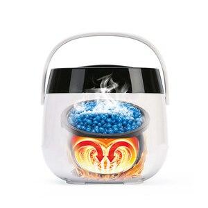 Image 4 - 500CC podgrzewacz wosku maszyna do usuwania włosów wyświetlacz LCD inteligentna maszyna do woskowania SPA ręczne stopy depilator ciała podgrzewacz do wosku i parafiny szybkie nagrzewanie