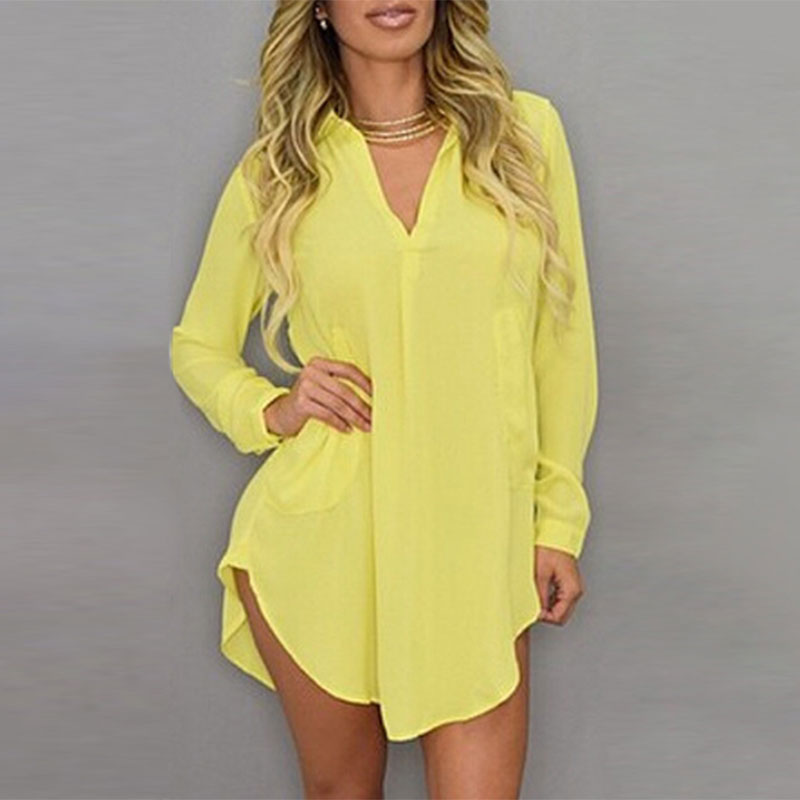 Compare Prices on Yellow Button Down Shirt- Online Shopping/Buy ...