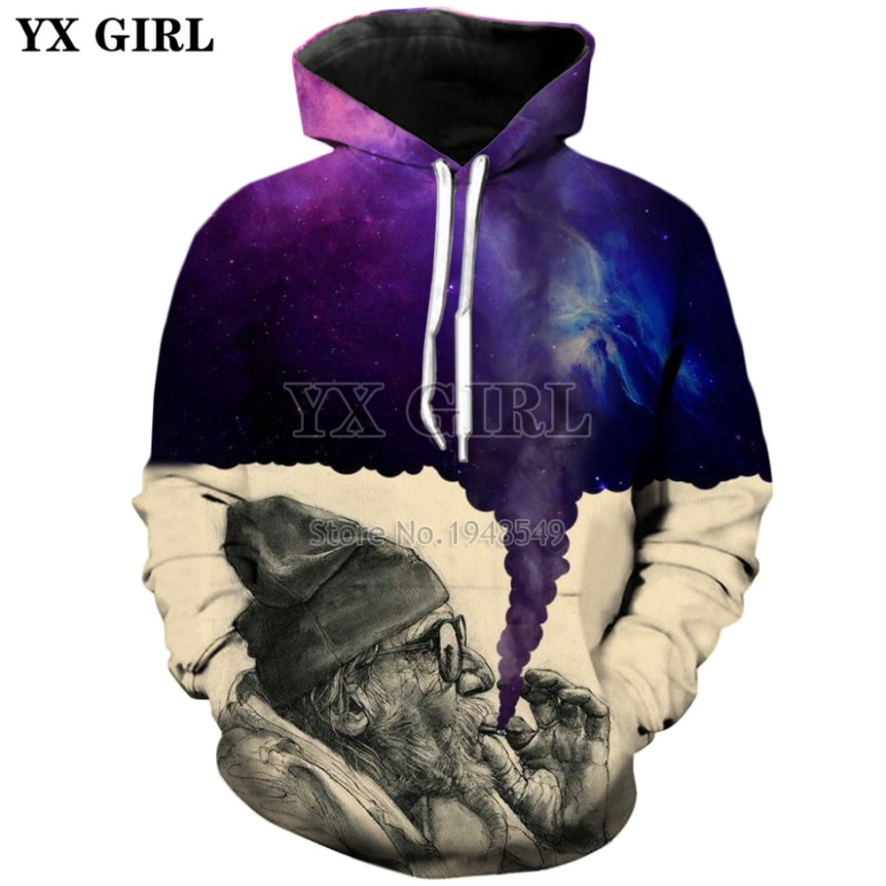 Espace Shipping 3d Picture Drôle As Drop Capuche À Color Nouvelle Impression Mode The Fumée Sweats Sweat Fille Hoodies 2018 Galaxy color Yx Picture 6YzEqnwBx