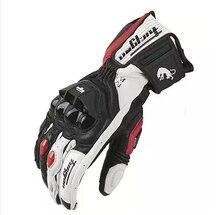 Darmowa wysyłka Hot sprzedaży najnowsze modele AFS18 rękawice motocyklowe rękawice wyścigowe oryginalne skórzane rękawiczki