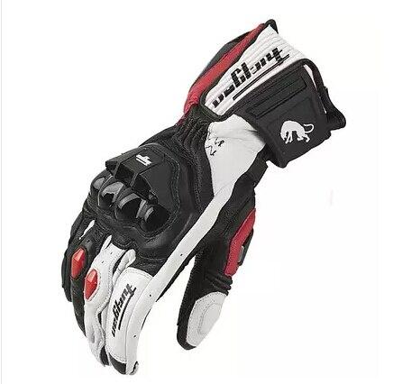Gants de moto en cuir véritable, pour course de course, nouveau modèle AFS18, offres spéciales, livraison gratuite