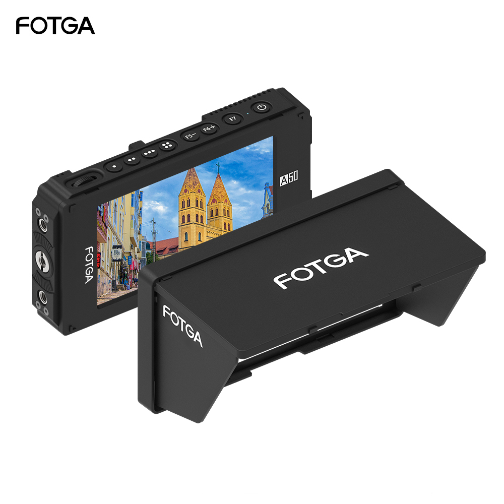 FOTGA A50TL FHD IPS VIDEO Monitor Working Temperature  20~60    3D LUT 1920x1080,510cd/m2,HDMI 4K Input/Output for sony-in Monitor from Consumer Electronics    1