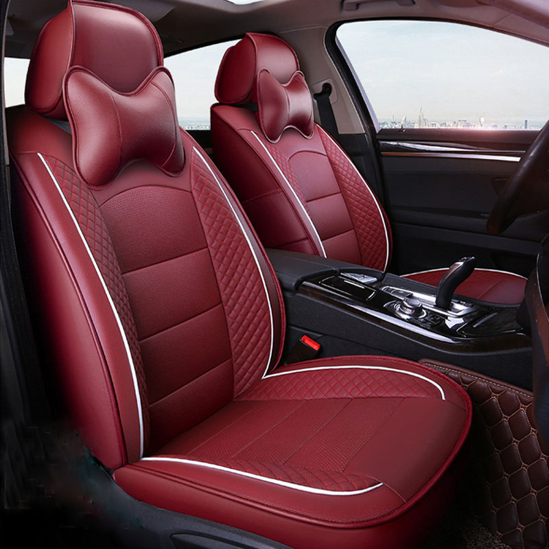 Carnong custom car seat cover leather same structure and size with original car seat protector vehicle pickup auto seat covers