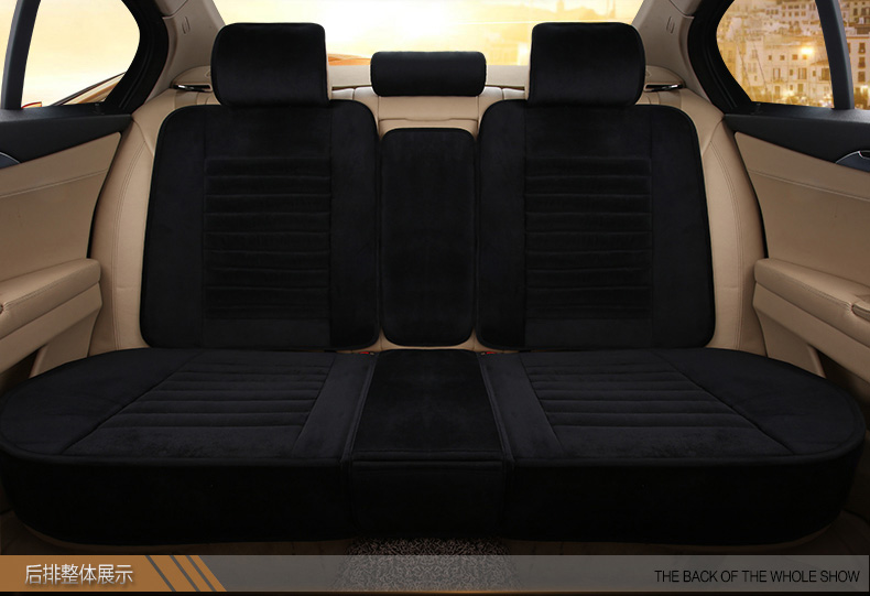 Plush Stitching Style Cushion 3D Winter Car Seat Covers For Renault Scenic Fluence Latitud Koleos Laguna Megane cc Talisman