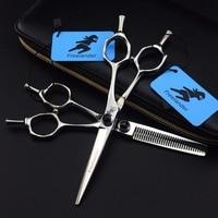 6 VG10 Barber Hairdressing Japanese Scissors Hairdresser Razor Hair Scissors Haircut Barber Kit Professional Hair Clippers Set