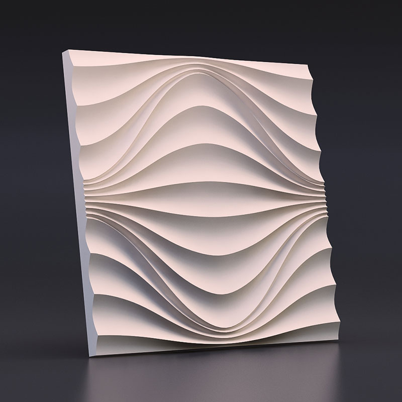 3D Molds for Concrete Plaster Wall Stone Cement, plaster Tiles silicone rubber molds Decorative wall molds