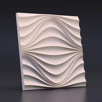 50cm 3D geometric concrete wall brick silicone mold plaster decorative board mould cement background wall mould