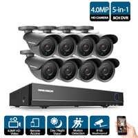 CCTV AHD 8CH 4MP 3G DVR enregistreur HDMI 1080 P 8 canaux DVR NVR pour 4.0MP HD caméra CCTV maison système de surveillance de sécurité vidéo