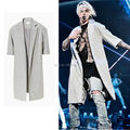 2017 Latest TOP JUSTIN BIEBER FEAR OF GOD OVERCOAT jackets kanye west HIPHOP Fashion Wool Dust coat M-XL