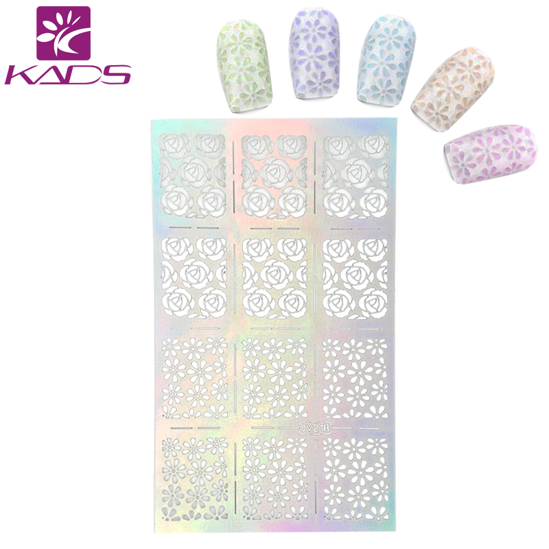 KADS New 2017 Pretty Charming Flower Image Transfer Nail Water Decals Beauty Nail Sticker Manicure Decorations Nail Art Tools new approaches for image retrieval