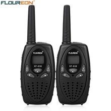 FLOUREON XF-638 8-канальный сетевой видеорегистратор иди и болтай Walkie talkie S UHF400-470MHz двусторонней радиосвязи 3 км переговорные рации-иди и болтай walkie Беспроводной Интерком черный ЕС
