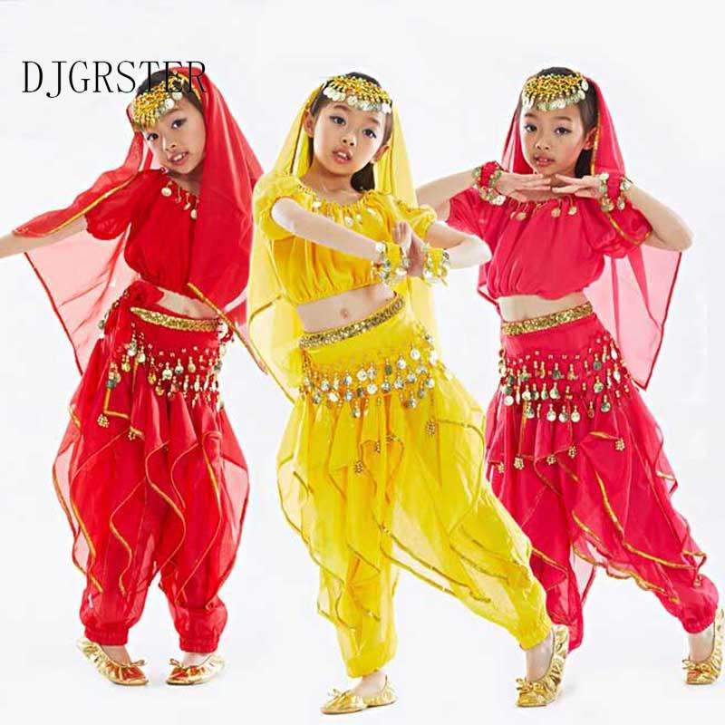 Belly dance costume ruhák gyerekek tánc gyermek gyermekek ajándék - Újdonság