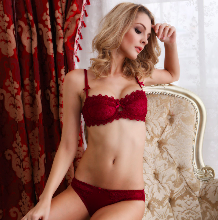 a5959a2090a Shitagi 2017 Sexy Women Underwear Intimates Set Push up Bra Set Transparent  Lace Bra and Panty Set Lingerie Set -in Bra   Brief Sets from Underwear ...