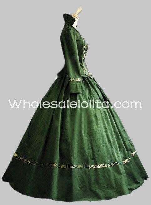 Vertamp; Victorienne Costumes D'époque Coton Bal Vêtements Brocart Gothique Théâtre Deux Robe De En Pièces BQrxoEdCWe