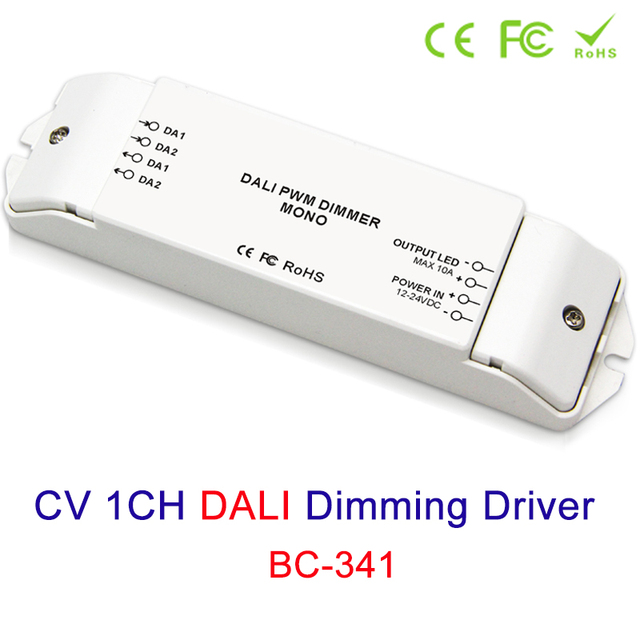Cv 1ch Dali Led Lamp Dimming Driver 12v 24v Strip Dimmer Lighting Accessories Dimmers Controller Free Shipping