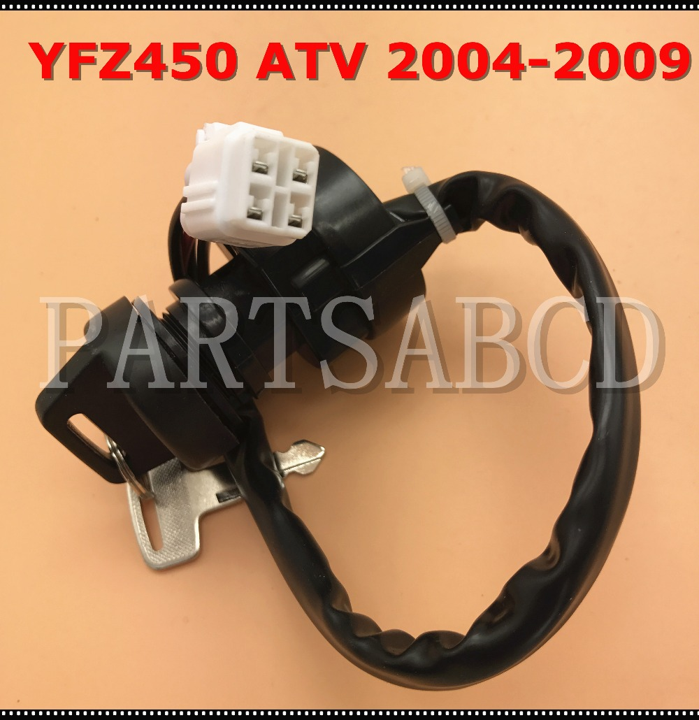 Ignition Key Switch For Yamaha Yfz450 Yfz 450 Quad 2wd 4wd 2004 2009 Wiring Harness In Motorbike Ingition From Automobiles Motorcycles On Alibaba Group