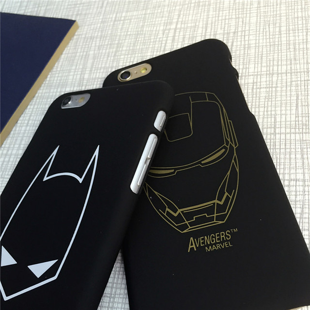 Superhero Hard Back Skinny Cover Case For iphone 5S/SE 6/6S 6PLUS