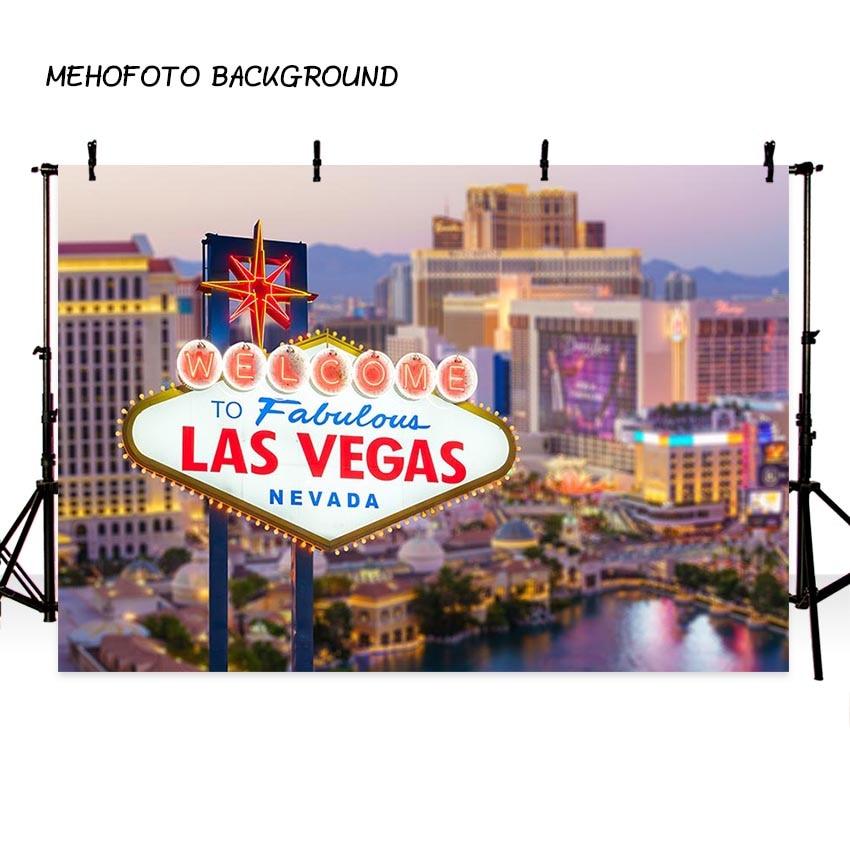 Thin Vinyl Photography Backdrops Las Vegas Shiny Night
