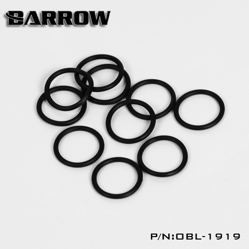 Barrow G1 / 4 Universal water cooling Luminescent Blue silicone Seal ...