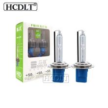 HCDLT 35 W 55 W ксенона H7 H1 H3 H11 HB3 HB4 D2H HID лампы 5500 K для автомобильных фар Быстрый яркий Canbus ДЛТ Hylux Xenon комплект ballast HID