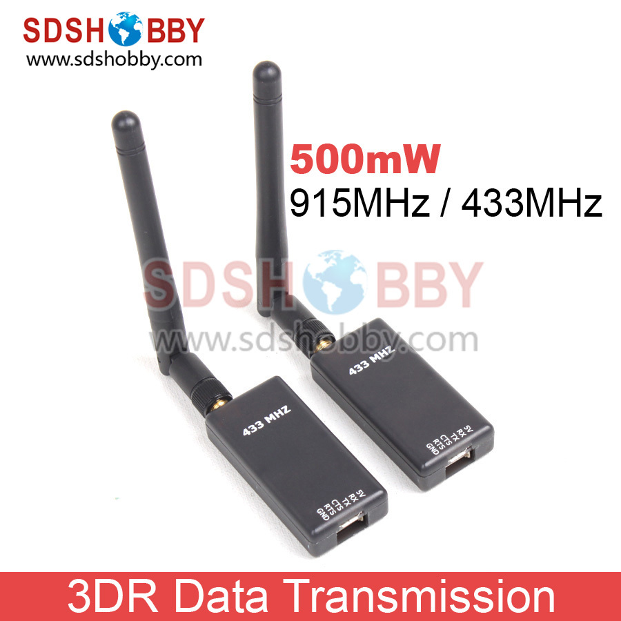 ФОТО newest 3dr radio telemetry kit 500mw 915mhz/ 433mhz with dual ttl for pirate mwc apm pixhawk