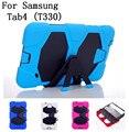 Новый стиль оригинал качество жесткий силиконовой резины чехол для Samsung galaxy Tab4 T330 планшет прочный защитный, Артикул 0114BCO