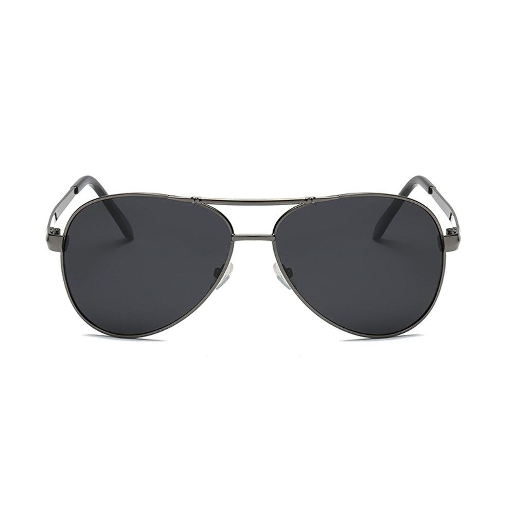 HJYBBSN Polarized Sunglasses Men Polarized Sunglasses for Men Driving FISHING Points Black Frame Eyewear Male Sun Glasses UV400