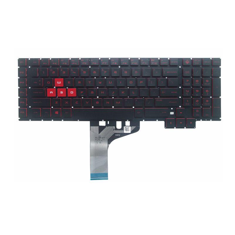 GZEELE New For HP Omen 17-an 17-an000 17-an013tx 17-AN008CA 17-AN010CA 17-AN020CA Backlit US English Keyboard NSK-XH0LN