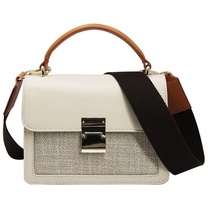 0002 Und Mode Amerikanische Handtasche Schloss Breite 0001 Europäische Weibliche Umhängetasche Schultergurt Neue n7xgvqROw