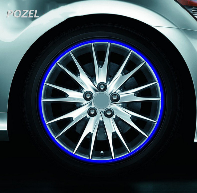 Car Styling 15 18 Zoll Felge Streifen Reflektierende Aufkleber Fr