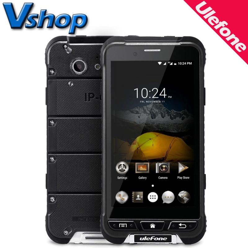 Galleria fotografica D'origine Ulefone ARMURE Étanche 4G Mobile Téléphone Android 6.0 3 GB RAM 32 GB ROM Octa base Smartphone Double SIM 4.7 pouce Cellulaire Téléphone