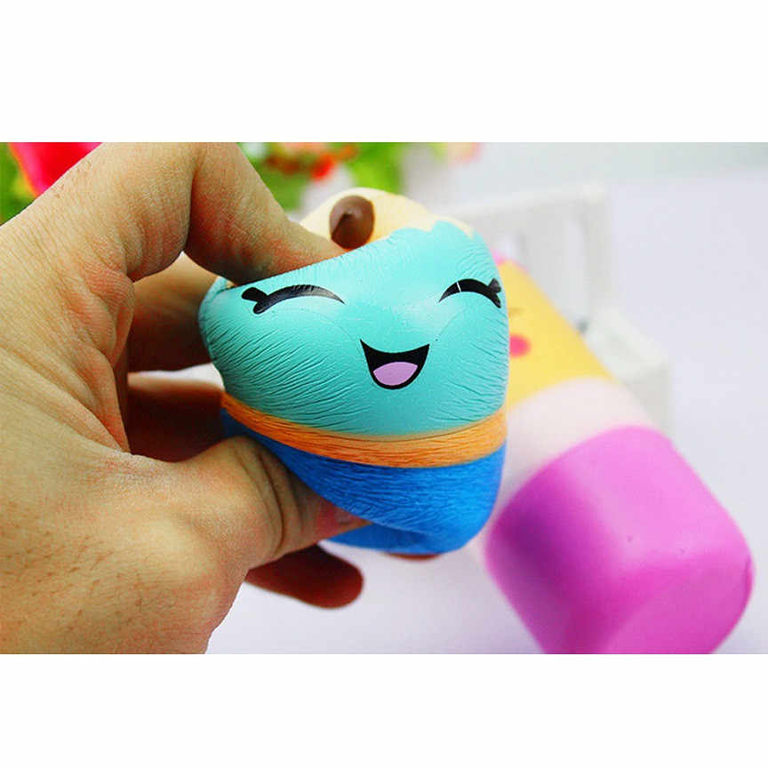 Kawaii Squishies Pencil Gags Practical Jokes Toy Squeeze Squish Antistress Squishy Animals Cream Scented 30S71225 drop shipping