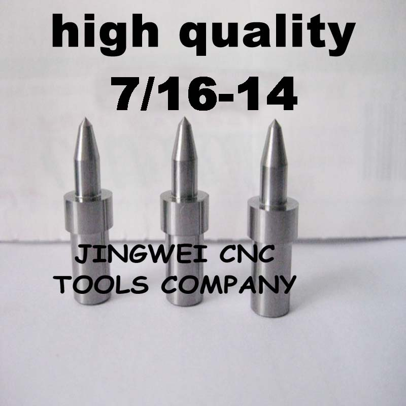high quality Tungsten carbide flow drill America system UNC 7/16-14 (10.2mm) round type, form drill bit for stainless steel american system solid carbide form drill npt 1 16 27standard round carbide flow drill bit