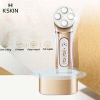 K SKIN OP9910 EMS Anti Aging RF Skin Lifting Face Massager For Home Use EMS Technology 3 Adjustable Levels Wrinkles Removal