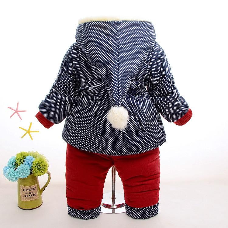 8b374db1dec6 classic 0f4c9 f272e hot winter velvet kids clothes baby girls ...