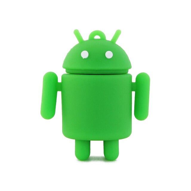 U Disk Pen Drive Dos Desenhos Animados Android 4 GB 8 GB 16 GB 32 GB 64 GB Flash Drive USB Flash Drive Memory Stick Pendrive Livre grátis