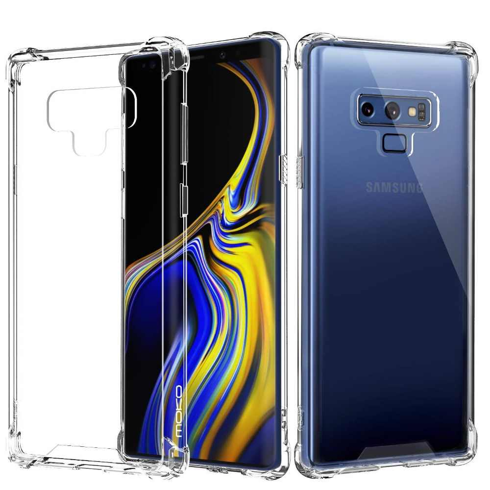 Crystal For Samsung Galaxy Note 9 Case For Samsung Galaxy J4 J6 Plus 2018  Soft Tpu Cases For Samsung J2 Core J8 A7 2018 Cover