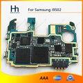 100% de trabajo bien junta desbloquear wcdma 3g placa base placa base para samsung galaxy s4 i9502 16 gb envío gratis
