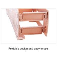 1 Pc Ventilate Shoe Rack Plastic Wall Hanging Type Adhesive Shoe Rack Storage Hanger Organizer Space Saver #10