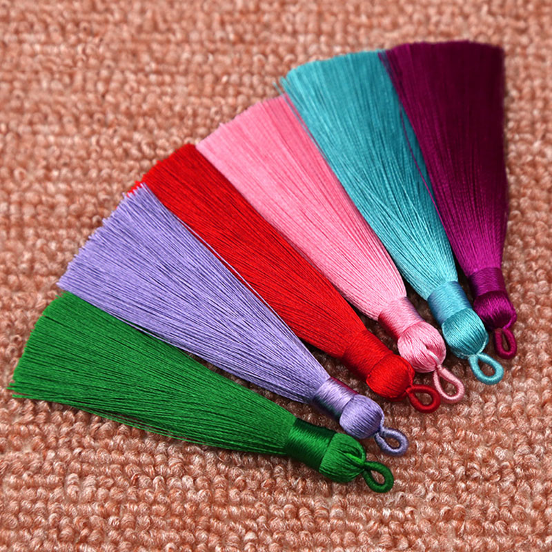 25 Colors  New Arrival High Quality Hot Sale 1PC Handmade Unique Beautiful Silk Tassel Wedding Jewelry Accessories