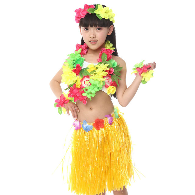Free Shipping Halloween Carnival Fancy Dress Costumes for Kids Girls Children Hawaiian Hula Skirt Ballroom Belly Dancing Clothes  sc 1 st  Aliexpress & Online Shop Free Shipping Halloween Carnival Fancy Dress Costumes ...