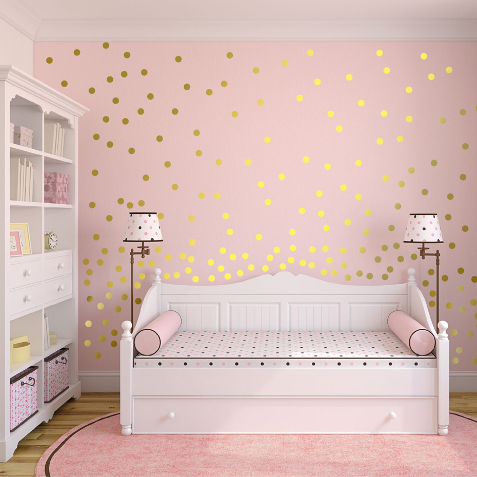 Gold heart butterfly stars wall decals gold polka dot wall sticker gold heart butterfly stars wall decals gold polka dot wall sticker girls kids nursery decor gold wallpaper wall art home decor in wall stickers from home amipublicfo Images