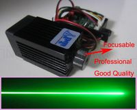 Precio Calidad enfocable súper estable 200 mW 532nm módulo láser verde etapa luz RGB diodo láser diseño compacto/TT L luces de 12 V CC